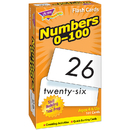 Trend Enterprises T-53107 Flash Cards Numbers 0-100 101/Box