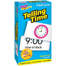 Trend Enterprises T-53108 Flash Cards Telling Time 96/Box