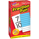 Trend Enterprises T-53109 Flash Cards Fraction Fun 96/Box