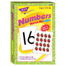 Trend Enterprises T-58002 Match Me Cards Numbers 0-25 52/Box Two-Sided Cards Ages 4 & Up