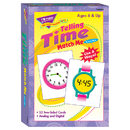 Trend Enterprises T-58004 Match Me Cards Telling Time 52/Box Two-Sided Cards Ages 6 & Up