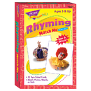 Trend Enterprises T-58007 Match Me Cards Rhyming 52/Box Words Two-Sided Cards Ages 5 & Up