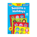 Trend Enterprises T-580 Stinky Stickers Seasons & 432/Pk Holidays Jumbo Variety