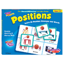 Trend Enterprises T-58104 Match Me Game Positions Ages 3 & Up 1-8 Players