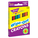 Trend Enterprises T-593 Wipe-Off Crayons Regular 8/Pk