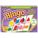 Trend Enterprises T-6061 Bingo Colors & Shapes Ages 4 & Up