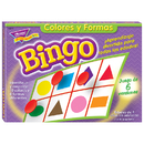 Trend Enterprises T-6074 Bingo De Colores Y Figuras Old T086
