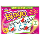 Trend Enterprises T-6076 Sight Words Level 2 Bingo Game