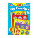 Trend Enterprises T-6491 Stinky Stickers Fun Favorites 435Pk Jumbo Acid-Free Variety Pk