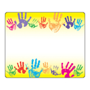 Trend Enterprises T-68005 Name Tags Rainbow Handprints 36Pk