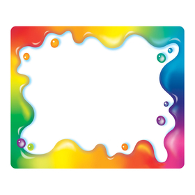 Trend Enterprises T-68023 Rainbow Gel Name Tags, Price/EA