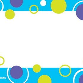 Trend Enterprises T-68036 Blue Fizz Name Tags, Price/EA