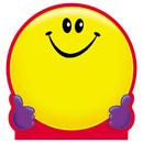 Trend Enterprises T-72013 Note Pad Smiley Face 50 Sht 5X5 Acid Free