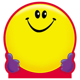 Trend Enterprises T-72013 Note Pad Smiley Face 50 Sht 5X5 Acid Free, Price/EA