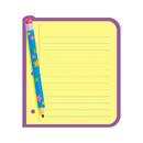 Trend Enterprises T-72029 Note Pad Note Paper 50 Sht 5 X 5 Acid-Free