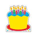Trend Enterprises T-72032 Note Pad Birthday Cake 50 Sht 5X5 Acid-Free