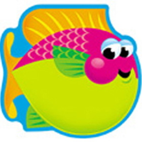 Trend Enterprises T-72035 Note Pad Fish 50 Sht 5 X 5 Acid Free, Price/EA