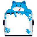 Trend Enterprises T-72074 Curious Color Cat Note Pad Shaped