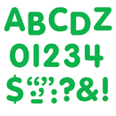 Trend Enterprises T-78003 Stick-Eze 1 Letters Numbers Green 184 Uppercase 50 Numerals 90 Marks