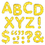 Trend Enterprises T-78304 Stick-Eze Stick-On Letters Yellow Sparkle 2 Inch