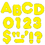 Trend Enterprises T-79003 Ready Letters 3 Inch Casual Yellow