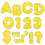 Trend Enterprises T-79009 Ready Letters 3 Casual Yellow Sparkle
