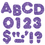 Trend Enterprises T-79012 Ready Letters 3 Inch Casual Purple Sparkle