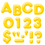 Trend Enterprises T-79503 Ready Letters 4Inch 3-D Yellow