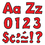 Trend Enterprises T-79742 Ready Letter 4 Inch Playful Red Uppercase & Lowercase Combo