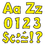 Trend Enterprises T-79743 Ready Letter 4 Inch Playful Yellow Uppercase & Lowercase Combo