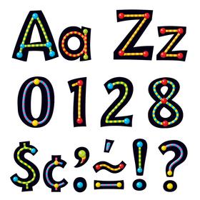 Trend Enterprises T-79755 Alpha-Beads Ready Letters 4In Upper Lowercase Combo, Price/EA
