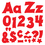 Trend Enterprises T-79803 Red 4In Combo Pack Uppercase - Lowercase