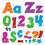 Trend Enterprises T-79841 Snazzy 4In Combo Pack Uppercase - Lowercase