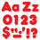 Trend Enterprises T-79902 Ready Letter 4 Inch Casual Red Uppercase & Lowercase Combo