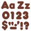 Trend Enterprises T-79904 Chocolate 4In Casual Combo Ready Letters