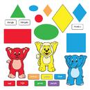 Trend Enterprises T-8010 Bb Set Colors & Shapes