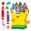 Trend Enterprises T-8076 Bb Set Colorful Crayons