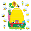 Trend Enterprises T-8077 Bb Set Busy Bees Job Chart Plus