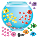 Trend Enterprises T-8086 Bb Set 100-Day Fishbowl
