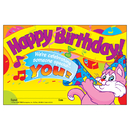 Trend Enterprises T-8100 Awards Happy Birthday 30/Pk 5 X 8