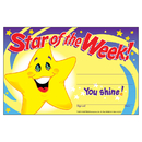 Trend Enterprises T-8107 Awards Star Of The Week 30/Pk 5X8