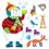 Trend Enterprises T-8127 Bb Set Super Snowman