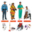 Trend Enterprises T-8143 Community Helpers Bb Set 45 Pcs