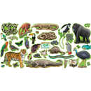 Trend Enterprises T-8150 Bb Set Rain Forest Animals 2 Press Sht