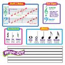 Trend Enterprises T-8189 Bb Set Music Symbols Includes 2 Wipe-Off Staffs