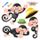 Trend Enterprises T-8201 Monkey Mischief Bb Set