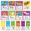 Trend Enterprises T-8265 Awesome Animals Alphabet Cards Std Manuscript Bb Set