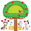 Trend Enterprises T-8277 Apple Tree & Animals Bb Set