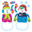 Trend Enterprises T-8291 Playful Snow Pals Bb Set