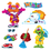 Trend Enterprises T-8315 Furry Friends Seasons Bb Set